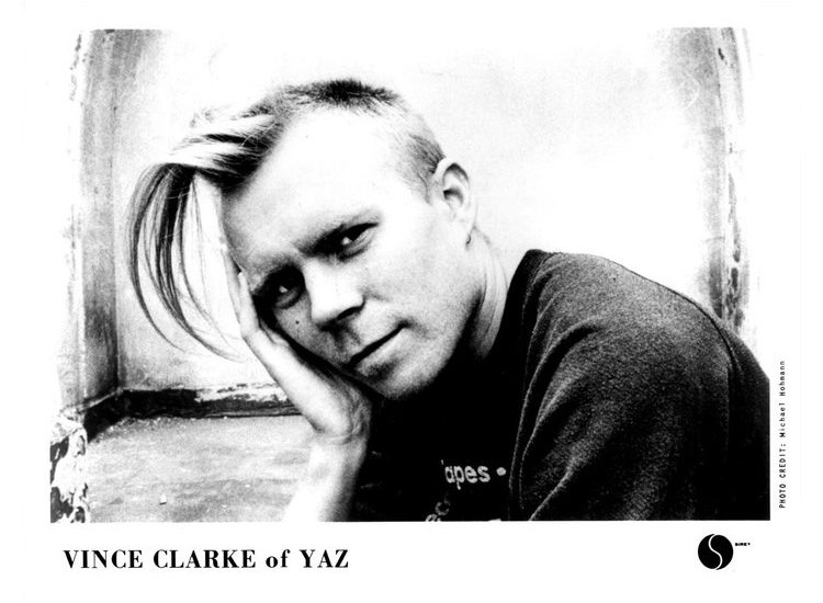 Goodbye seventies, Vince Clarke promo photo