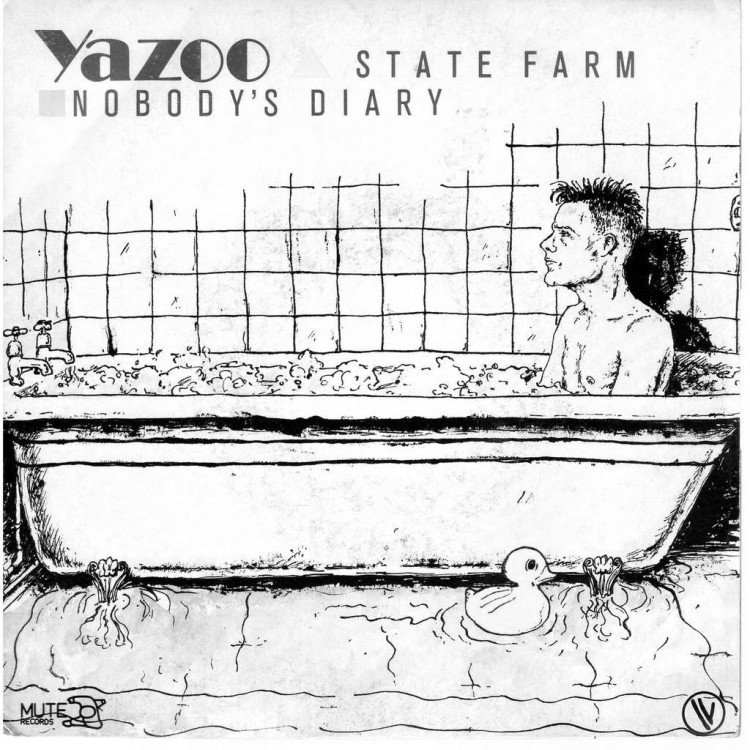 State farm originally appeared as the flip side of Yazoo's single Nobody's diary